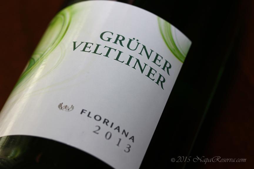 Gruner Veltliner Floriana 2013 Hungary S