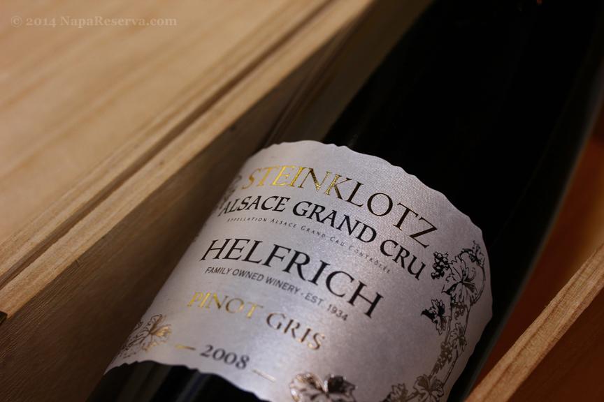 Helfrich Alsace Grand Cru Pinot Gris 2008 France