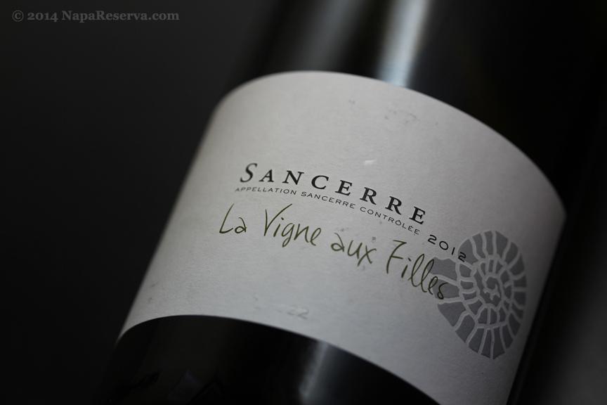 La Vigne aux Filles Sancerre Loire Valley 2012