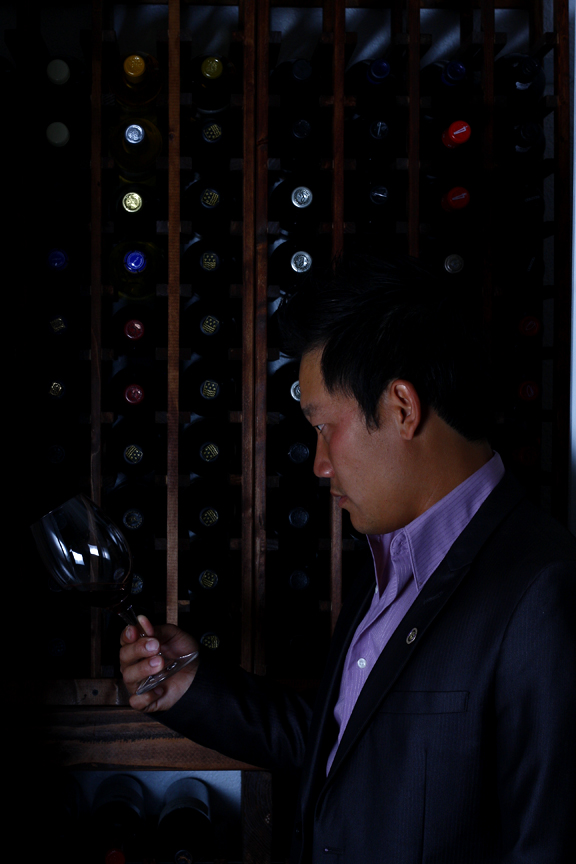 Thomas Le certified sommelier