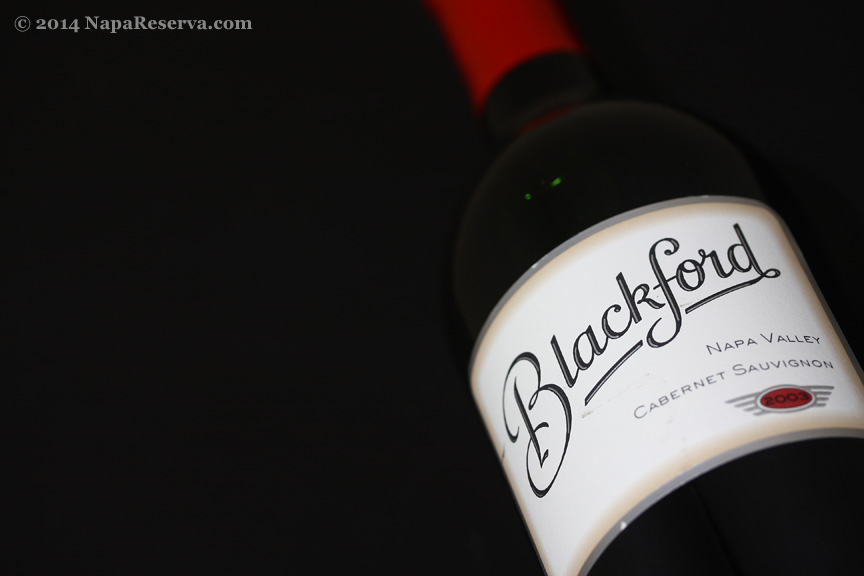 Blackford Napa Valley Cabernet Sauvignon 2003