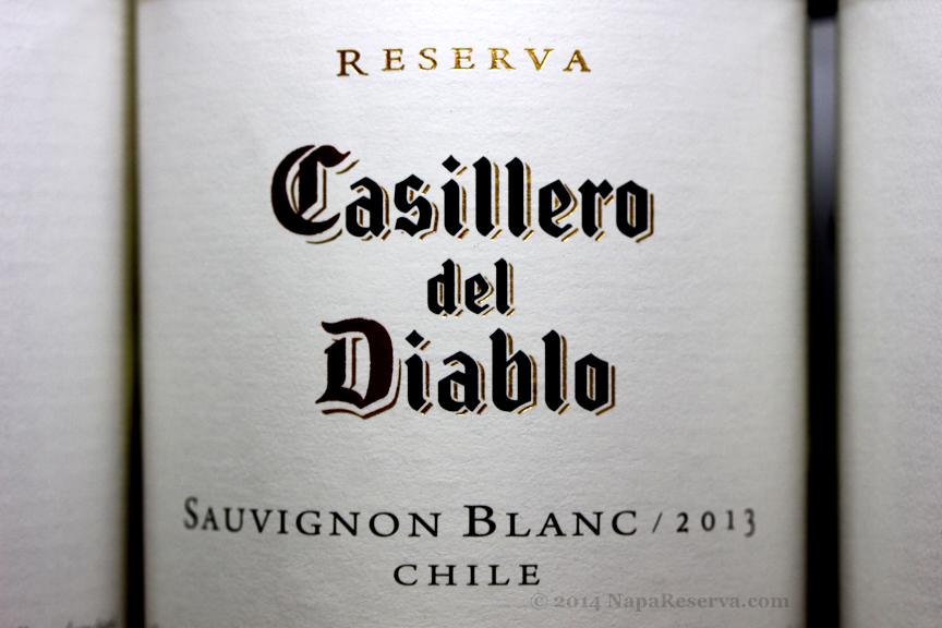 Casillero del Diable Sauvignon Blanc 2013 Chile
