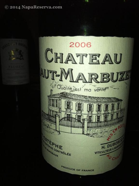 Chateau Haut-Marbuzet 2006