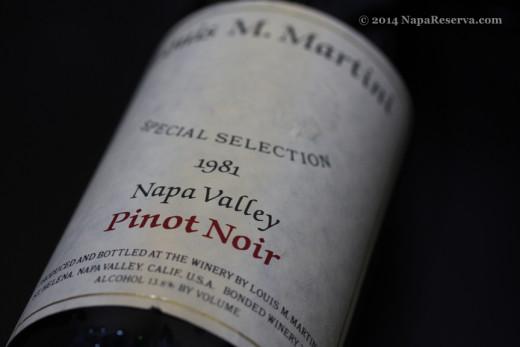 Louis Martin Napa Valley Pinot Noir