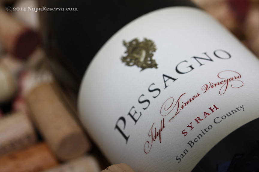 Pessagno Idyll Times Vineyards Syrah 2007