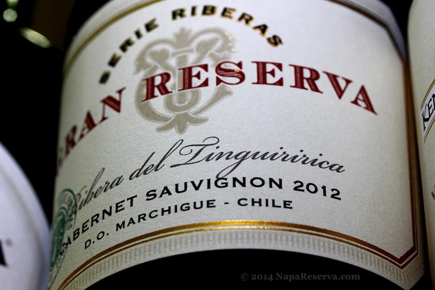 Serie Riberas Cabernet Sauvignon Marchigue 2012 Chile
