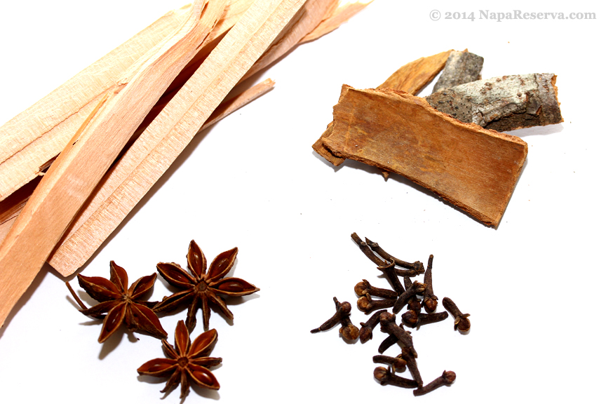 spice and wood