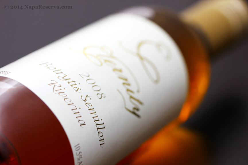 Eternity 2008 Botrytis Semillon Riverina New South Wales