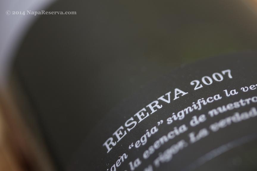 Spanish Reserva 2007
