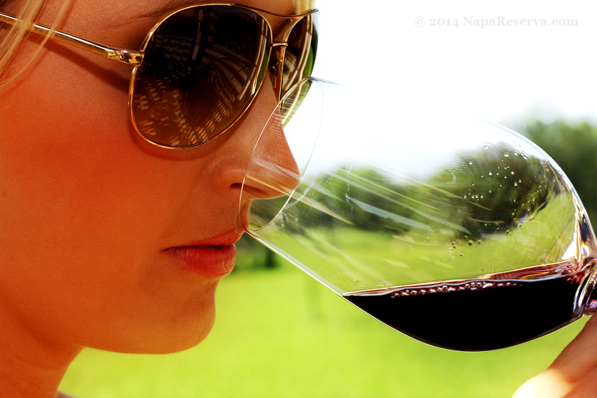 Nosing on Opus One