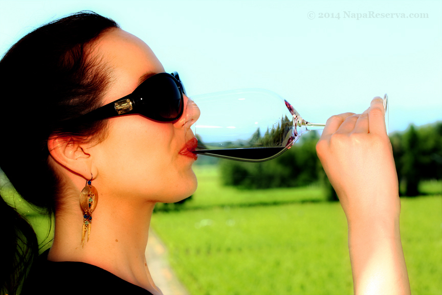 tasting opus one wine