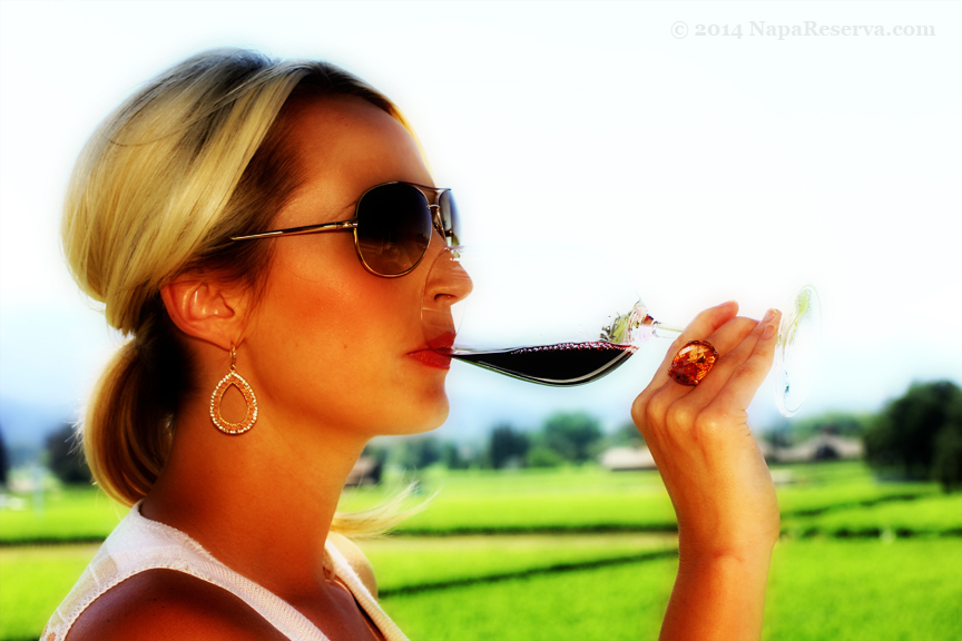 wine tasting at Opus One Napa Valley