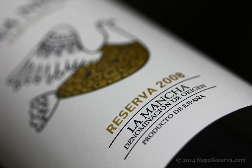 La Mancha DOC reserva 2008