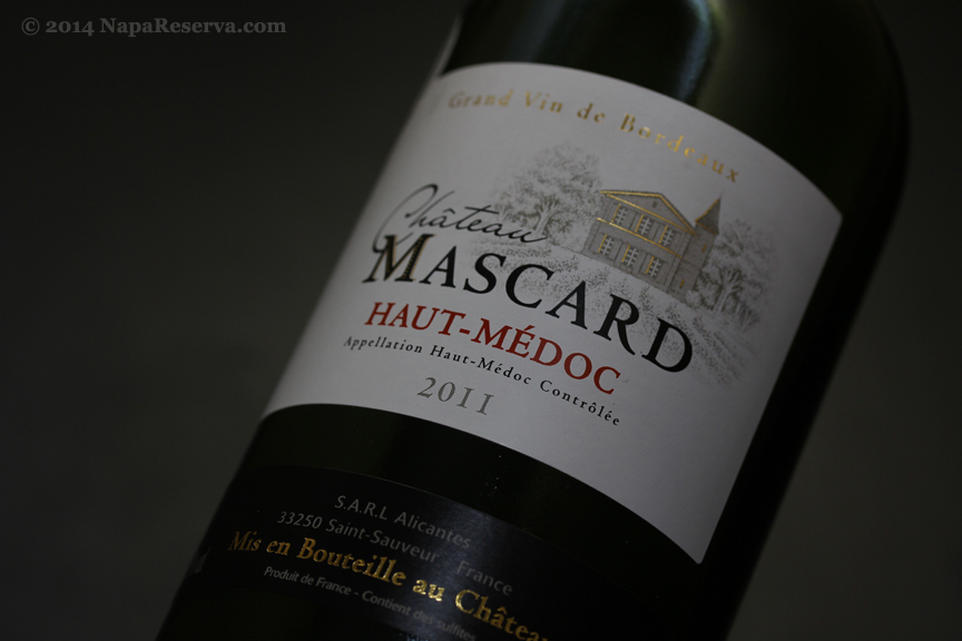 Chateau Mascard Haut-Medoc 2011