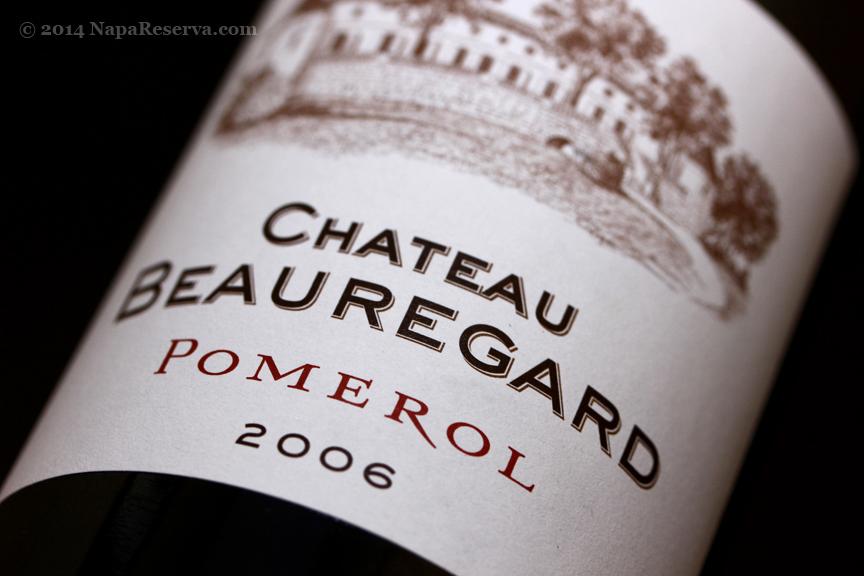 Pomerol Chateau Beauregard 2006