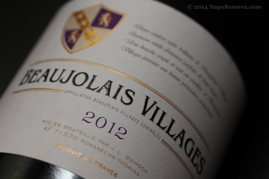 Beaujolais Villages 2012 S