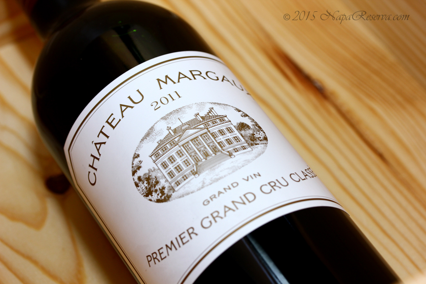 Chateau Margaux 2011 Margaux France Premier Grand Cru Classe S