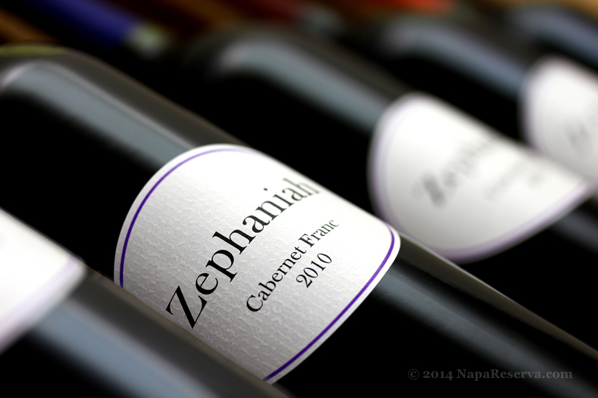 Zephaniah Cabernet Franc Virginia 2010