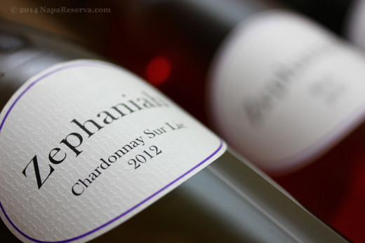 Zephaniah Chardonnay Sur Lie 2012