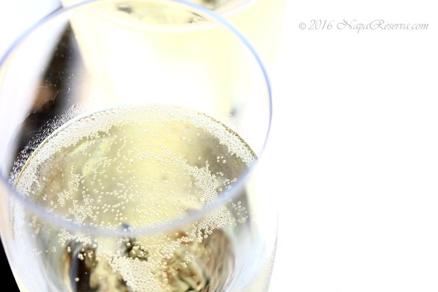 bubble champagne glass S