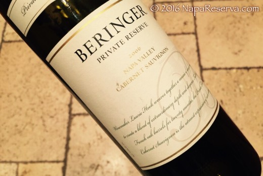 beringer private reserve 2006